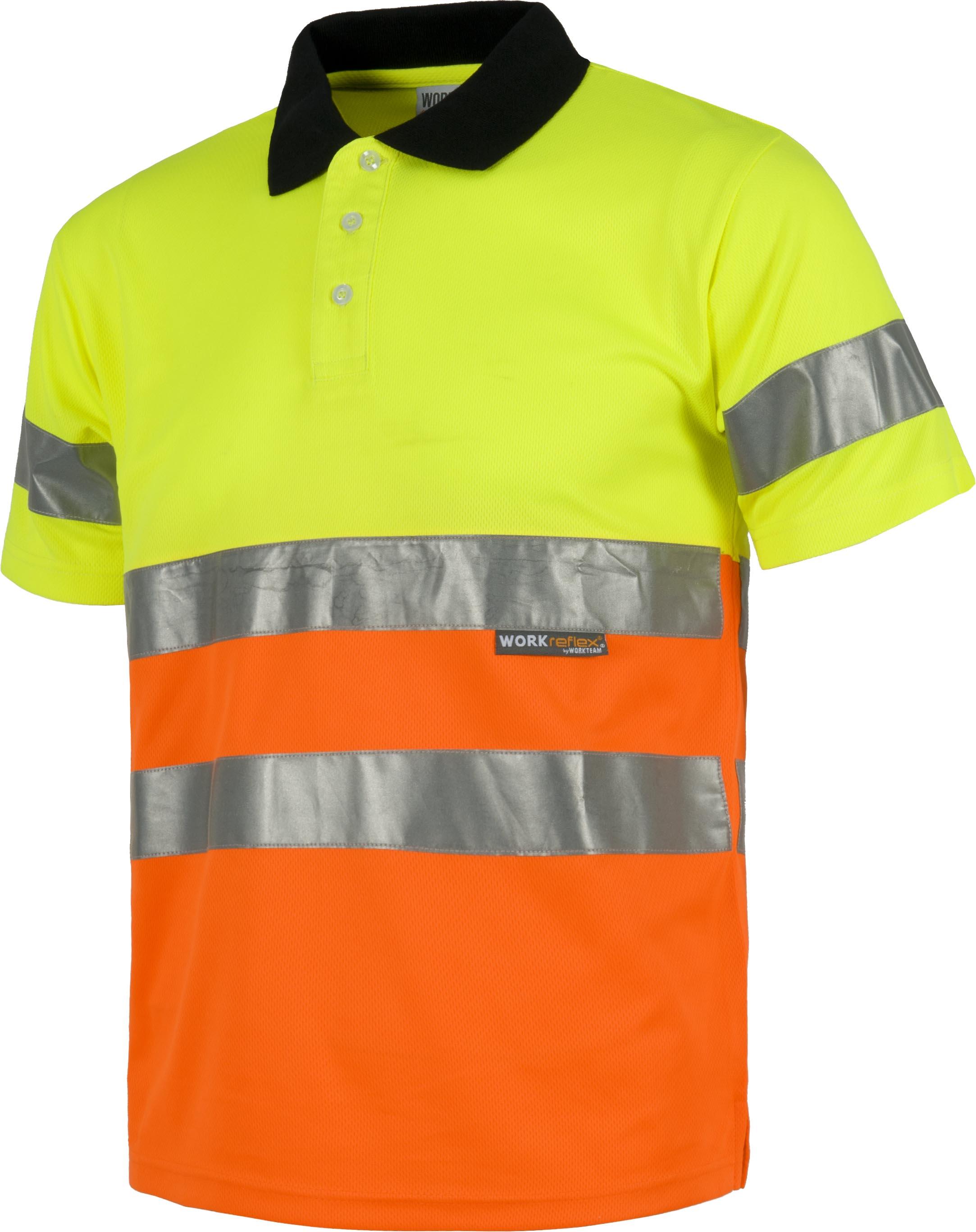 7126717bae0 Polo reflectante alta visibilidad C3866 | Borda Logos | Ropa laboral ...